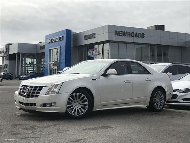 2013 CADILLAC CTS Performance Collection Performance Collection, LEATER, ROOF, ONE OWNER in Newmarket, Ontario