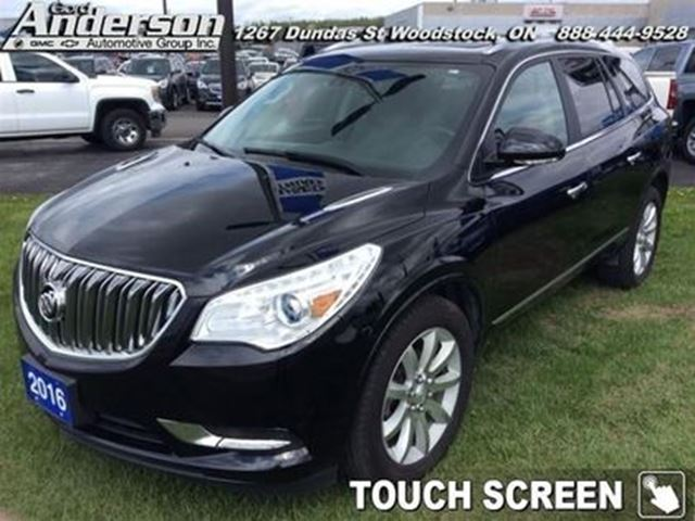 2016 BUICK ENCLAVE Premium - Leather Seats -  Cooled Seats in Woodstock, Ontario