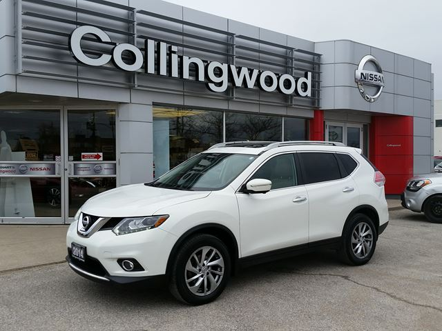 2014 Nissan Rogue SL PREMIUM AWD *1 OWNER* in Collingwood, Ontario