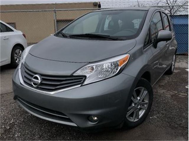 2014 NISSAN VERSA 1.6 SV LOW KMS!!! MAGS REAR SPOILER in St Catharines, Ontario