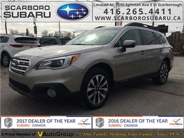 2015 SUBARU Outback 3.6R Limited PKG, FROM 1.9% FINANCING AVAILABLE in Scarborough, Ontario