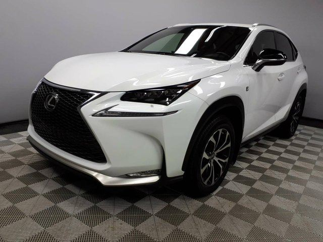 2017 LEXUS NX 200T F Sport Series 1 - Local One Owner Trade In | 3M Protection Applied | Leather Heated Seats | Heated Steering Wheel | Navigation | Back Up Camera | Parking Sensors | Power Sunroof | Power Liftgate | Dual Zone Climate Control with AC | Lexus Premium Au in Edmonton, Alberta