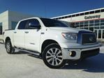 2013 Toyota Tundra 4WD CREWMAX PLATINUM, Navi, Roof, Bacup Cam, Heated and Cooled seats. in Edmonton, Alberta