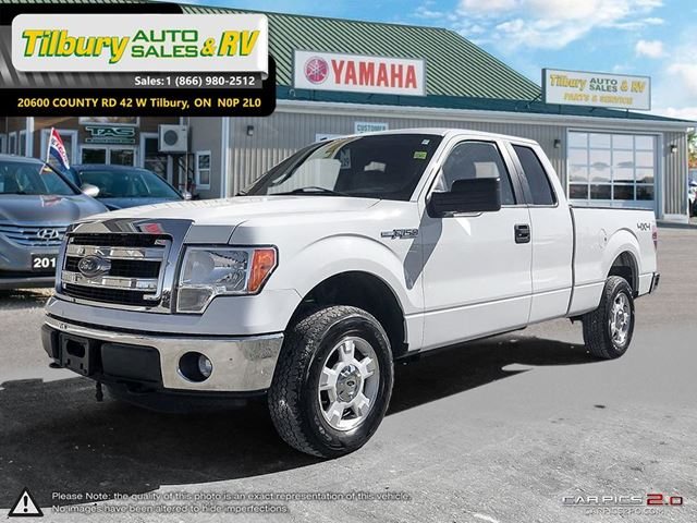 2014 Ford F-150 SUPERCAB. V6. CLEAN. in Tilbury, Ontario