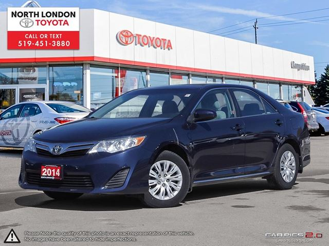 2014 TOYOTA Camry LE Toyota Certified, One Owner in London, Ontario