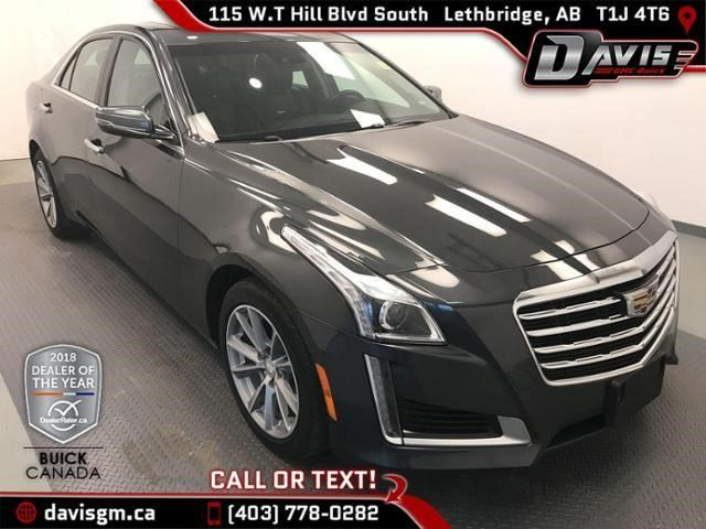 2017 CADILLAC CTS Luxury Collection AWD in Lethbridge, Alberta