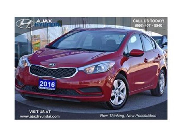 2016 KIA FORTE (4) LX - at in Ajax, Ontario