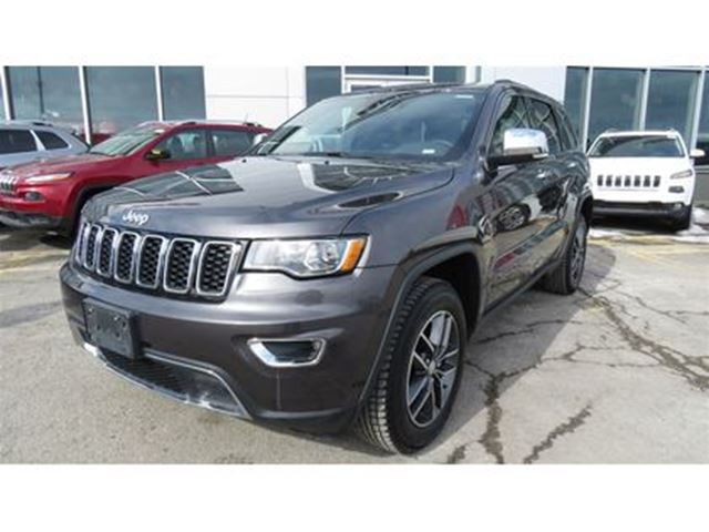 2018 JEEP Grand Cherokee Limited CUIR*CAMERA*TOIT OUVRANT in Trois-Rivieres, Quebec
