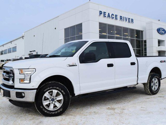 2015 FORD F-150 XLT 4x4 SuperCrew Cab 6.5 ft. box 157 in. WB in Peace River, Alberta
