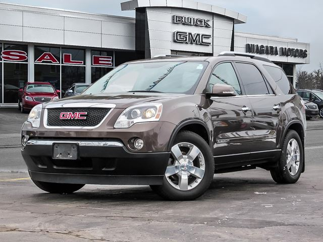 2008 GMC Acadia SLT ALL WHEEL DRIVE WITH SUNROOF AND QUADS in Virgil, Ontario