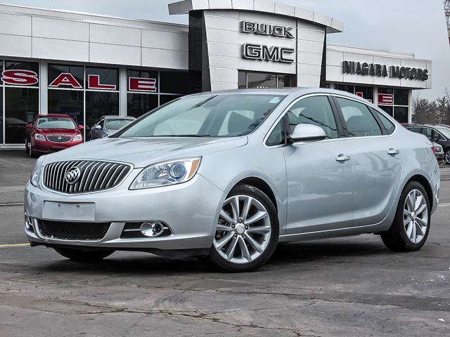 2015 Buick Verano One Owner..Local Trade..Leather Edition..only 1 in Virgil, Ontario