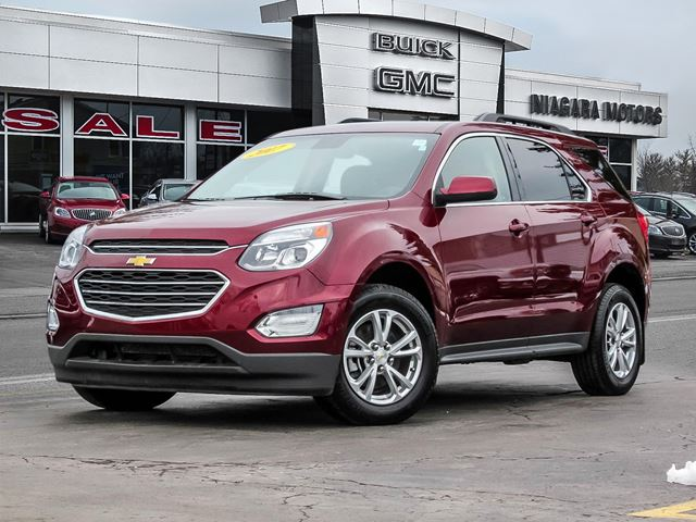 2017 Chevrolet Equinox LT with Navigation..Sunroof..Power Liftgate..on in Virgil, Ontario