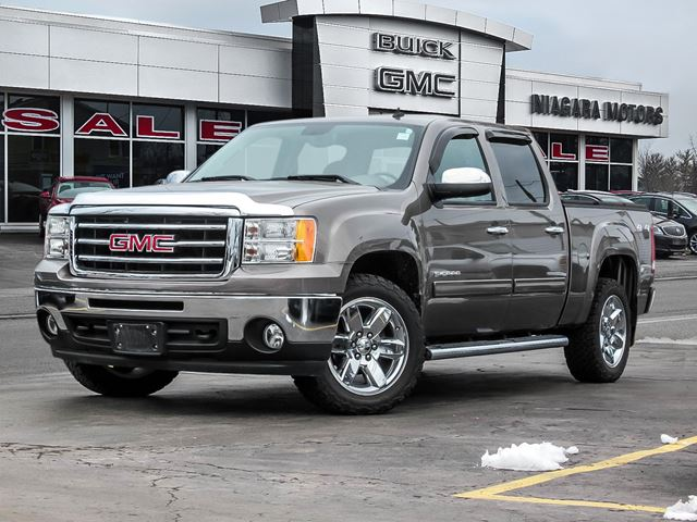 2013 GMC Sierra 1500 SLT CREW CAB 4WD..ONE OWNER..PURCHASED HERE..TR in Virgil, Ontario
