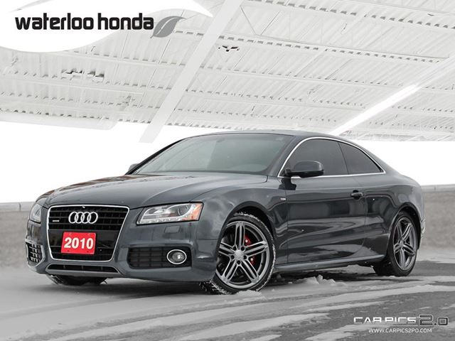 2010 AUDI A5 3.2L Sold Pending Customer Pick Up...Bluetooth, Back Up Camera and More! in Waterloo, Ontario