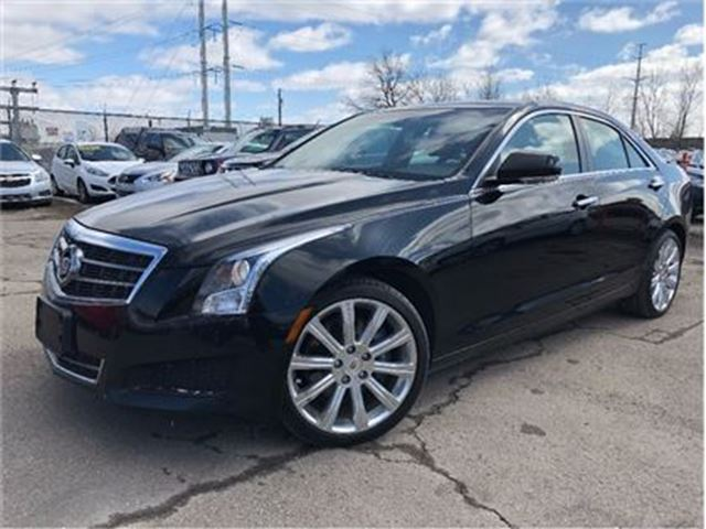 2014 CADILLAC ATS 2.0L Turbo Luxury LEATHER SUN ROOF in St Catharines, Ontario