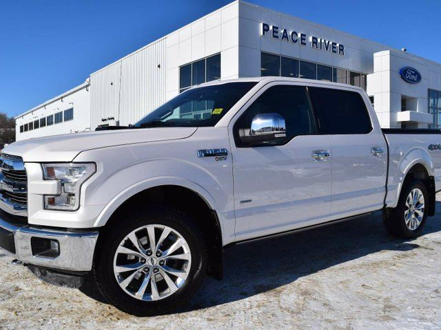 2016 FORD F-150 Lariat 4x4 SuperCrew Cab Styleside 5.5 ft. box 145 in. WB in Peace River, Alberta
