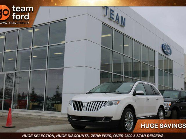 2013 LINCOLN MKX AWD, BRUNELO LEATHER, NAVIGATION, MOONROOF in Edmonton, Alberta