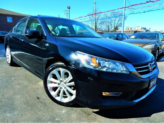 2013 HONDA Accord TOURING  NAVI.CAMERA  LEATHER.ROOF  ONE OWNER in Kitchener, Ontario