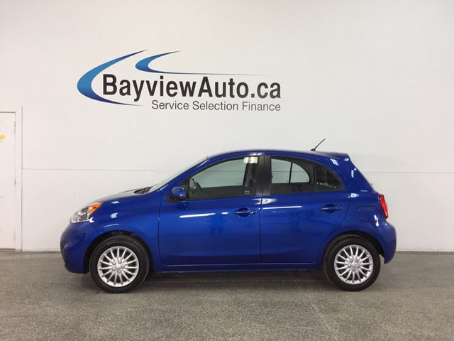 2015 NISSAN MICRA SV- AUTO|KEYLESS ENTRY|A/C|BLUETOOTH|CRUISE! in Belleville, Ontario