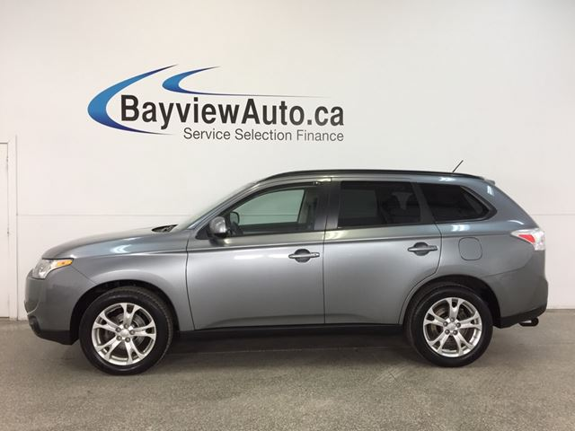 2014 MITSUBISHI OUTLANDER - AWD|HITCH|SUNROOF|HTD LTHR|BLUETOOTH|REV CAM! in Belleville, Ontario