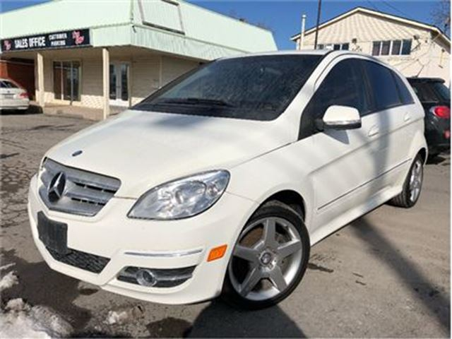 2011 MERCEDES-BENZ B-CLASS B200 Turbo NICE LOCAL TRADE IN!! in St Catharines, Ontario