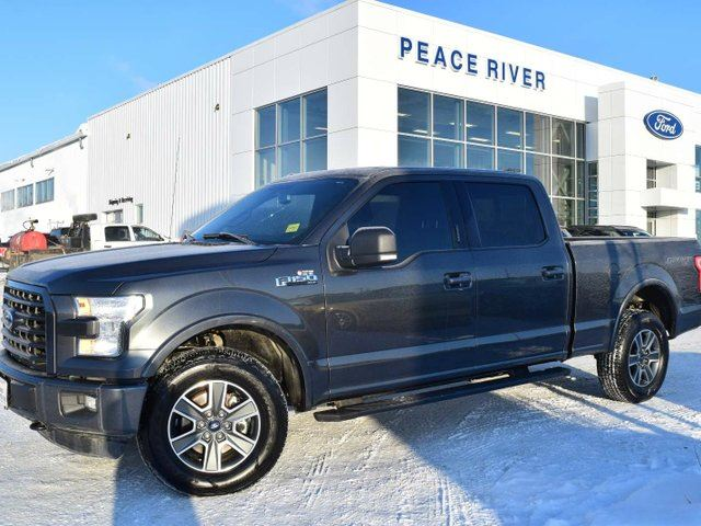 2016 FORD F-150 XLT 4x4 SuperCrew Cab Styleside 6.5 ft. box 157 in. WB in Peace River, Alberta