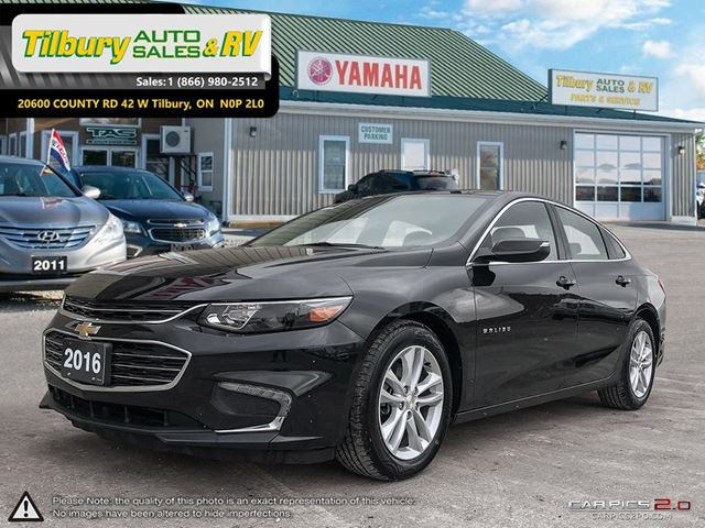 2016 CHEVROLET MALIBU LT. FUN TO DRIVE. TOUCH SCREEN. in Tilbury, Ontario