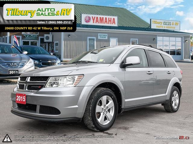 2015 Dodge Journey SE Plus. 7 PASSENGER SEATING. Touch Screen. in Tilbury, Ontario