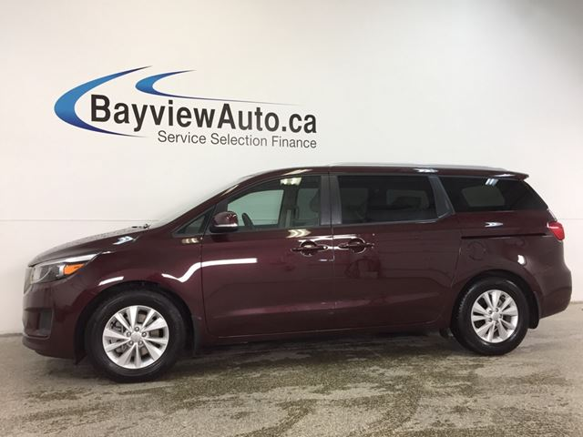 2018 KIA SEDONA LX- ALLOYS|ECO MODE|HTD STS|REV CAM|BLUETOOTH! in Belleville, Ontario