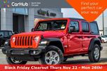 2018 Jeep Wrangler Unlimited New Car Sport 4x4 Convi.,Safety,Technology Pkgs Backup_Cam in Thornhill, Ontario