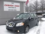2010 Chevrolet Aveo LT, AUTO, ROOF, 121km, 12M.WRTY+SAFETY $5490 in Ottawa, Ontario