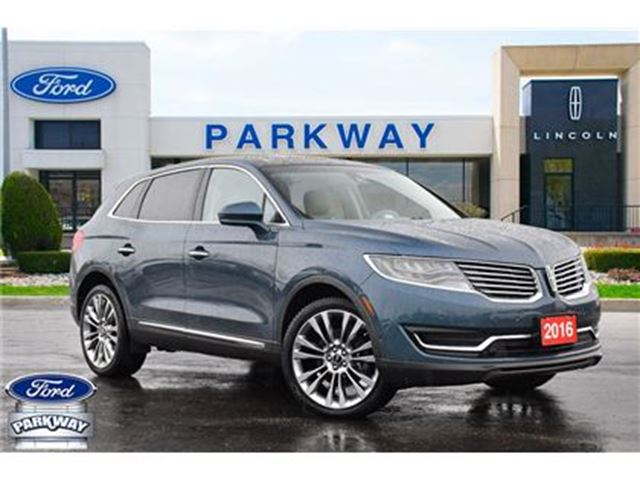 2016 LINCOLN MKX AWD  LOADED ALL OPTIONS  NO ACCIDENTS  1-OWNER in Waterloo, Ontario