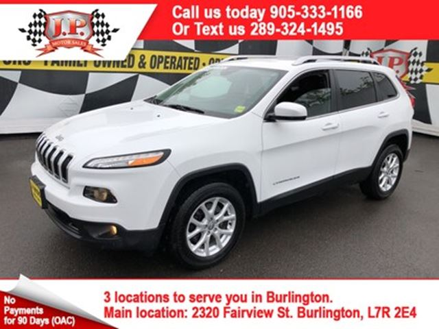 2015 JEEP CHEROKEE North, Automatic, Bluetooth, 4WD in Burlington, Ontario