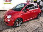 2012 Fiat 500 Sport, Auto, Bluetooth, Power Windows and Locks, in Burlington, Ontario