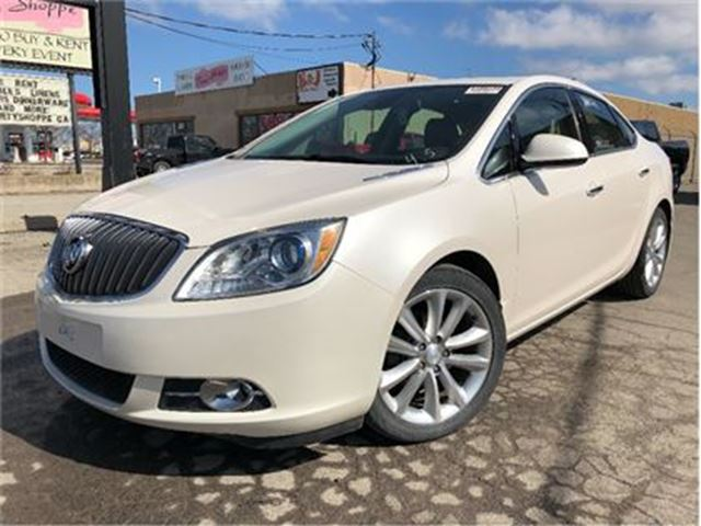 2014 BUICK VERANO NAV SUNROOF MAGS LEATHER & CLOTH in St Catharines, Ontario