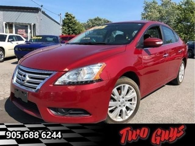 2013 NISSAN SENTRA 1.8 SL SUNROOF NAV HEATED FRONT SEATS in St Catharines, Ontario