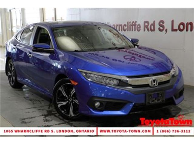 2016 HONDA CIVIC FULLY LOADED TOURING LEATHER NAVIGATION in London, Ontario