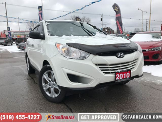 2010 HYUNDAI TUCSON GLS   AUTO LOANS APPROVED   APPLY TODAY in London, Ontario