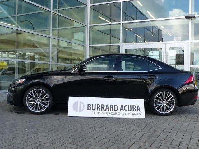 2015 LEXUS IS 250 AWD 6A in Vancouver, British Columbia