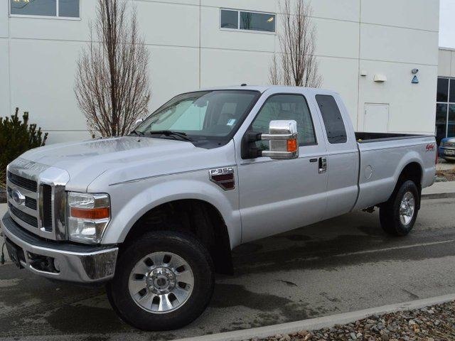 2008 FORD F-350 Lariat 4x4 SD Super Cab 158 in. WB SRW in Kamloops, British Columbia