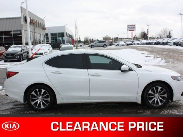 2016 ACURA TLX PREMIUM TECH Accident Free, Navigation (GPS), Leather, Heated Seats, Sunroof, Back-up Cam, Blu in Sherwood Park, Alberta