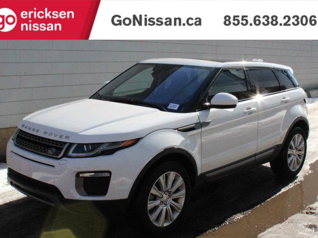 2017 LAND ROVER RANGE ROVER EVOQUE SE: NAVIGATION, PANORAMIC ROOF, VERY LOW KMS! in Edmonton, Alberta