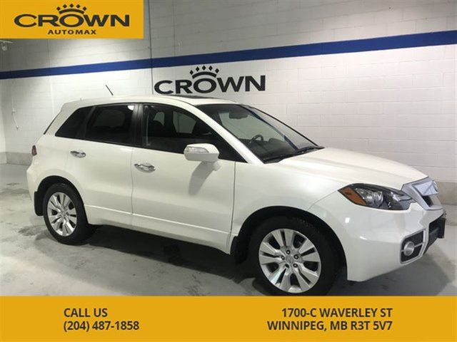 2011 ACURA RDX Tech Package **No Accidents** Turbo** Navigation** in Winnipeg, Manitoba