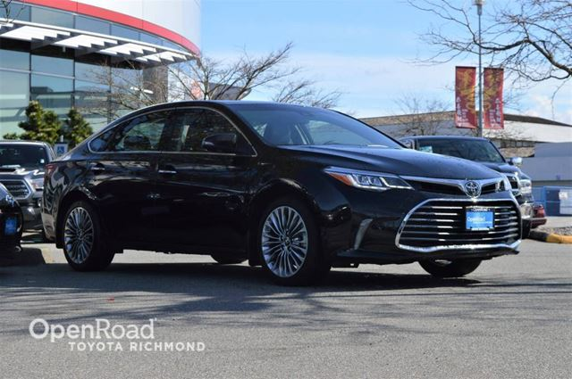 2017 TOYOTA Avalon Touring, Push button start, heated and cooled f in Richmond, British Columbia