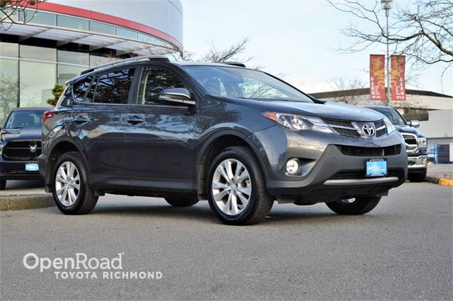 2015 TOYOTA RAV4 Limited, Push button start, Power sunroof, Memo in Richmond, British Columbia