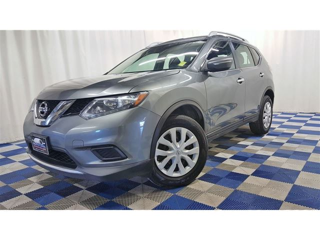 2015 NISSAN Rogue S AWD/ACCIDENT FREE/REAR CAM/BLUETOOTH in Winnipeg, Manitoba
