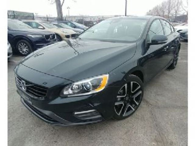 2018 VOLVO S60 T6 AWD Dynamic Web Unique Demo Offer in Mississauga, Ontario