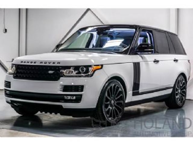 2017 LAND ROVER RANGE ROVER 5.0 L V8 SUPERCHARGED AWD in Mississauga, Ontario