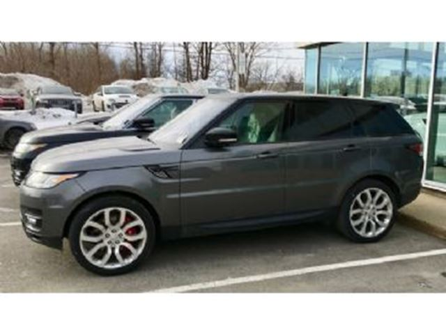 2016 LAND ROVER RANGE ROVER Sport SUPERCHARGED V8, Luxury Comfort+Visibility, Driver Assist in Mississauga, Ontario