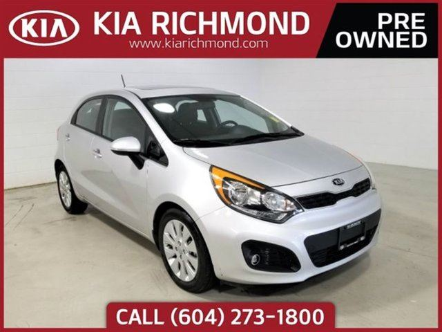 2014 KIA RIO EX w/ Sunroof in Richmond, British Columbia